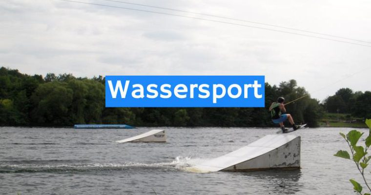 Wassersport am See