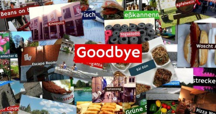 Goodbye and Thank you! Unser Blog sagt Tschüss!